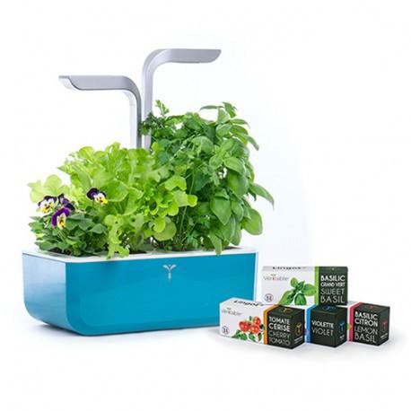 Veritable Smart Garden Organic Veritable Lingot Click & Grow Smart Garden Herbs Herb Grow light self watering planter indoor LED
